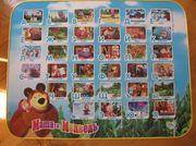 Столик детский для занятий Маша и Медведь