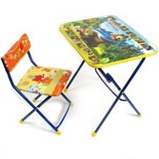 Столик и стульчик для занятий