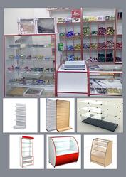 торговое оборудование для магазинов:стеллажи прилавки витрины