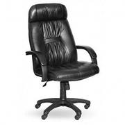 Офисное кресло PRADO black черная ЭКО кожа №48