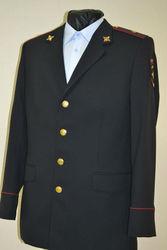 форменная одежда полиции мужской китель брюки ткань пш