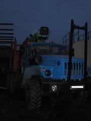 Продам Урал Лесовозный тягач с Атлант-70,  Атлант - 90