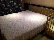 Кровать двухспальная,  2 тумбочки,  матрас