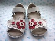 Стильные кожаные босоножки для первых шагов Вашей малышки!