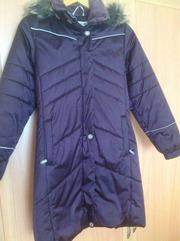 Пальто (пуховик)зимнее Kerry для девочки 158-160 см