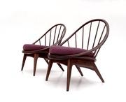 Кресла - стулья Kofod-Larsen Hoop. Дания. Винтаж