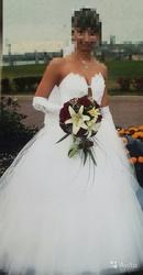 продам свадебное платье, красивое,  одеВала 1 невеста