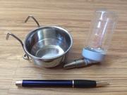 Ниппельная поилка и миска бу